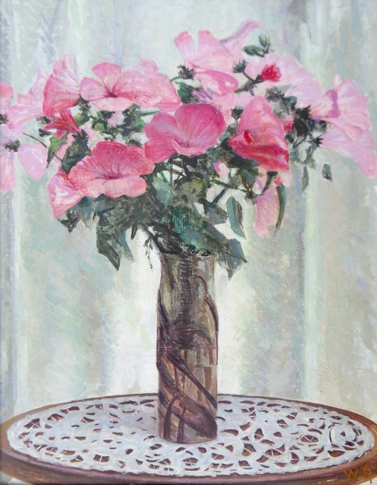 william rothlisberger lavateres dans vase galle 61 47cm 1938